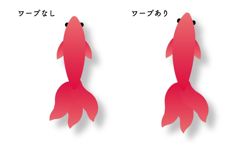 ワープの比較